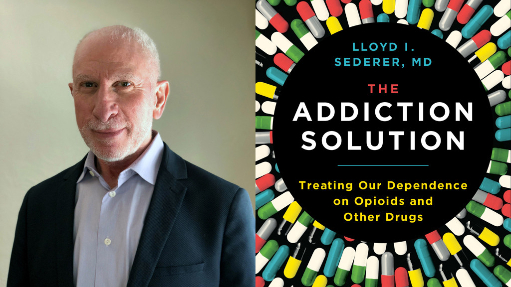lloyd-sederer: the addiction solution book cover